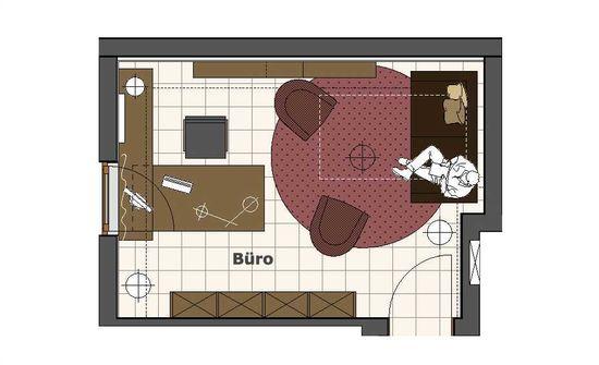 Arbeitszimmer mit lounge innenarchitekt in m nchen - Was macht ein innenarchitekt ...