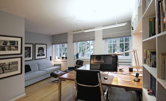 arbeitszimmer mit ruhebereich innenarchitekt in m nchen. Black Bedroom Furniture Sets. Home Design Ideas