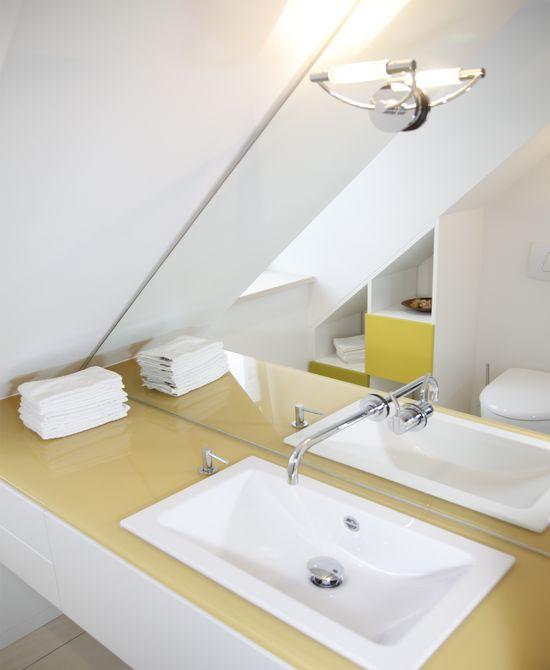 Spiegel Für Dachschrä gäste wc mit dachschräge innenarchitekt in münchen andreas