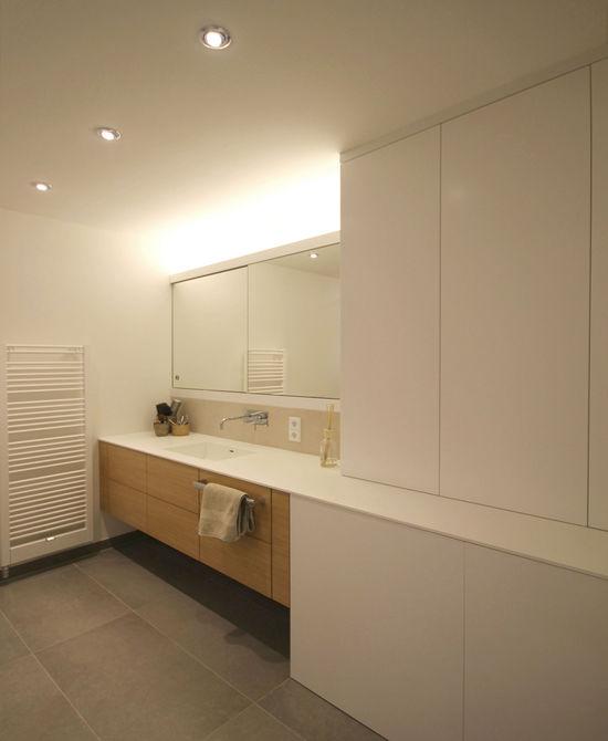 badezimmer einer maisonettewohnung innenarchitekt in m nchen andreas ptatscheck. Black Bedroom Furniture Sets. Home Design Ideas