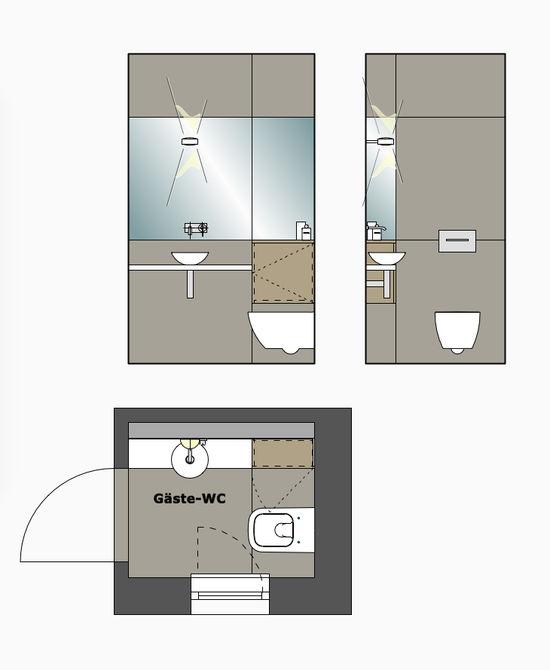 g ste wc eines einfamilienhauses innenarchitekt in m nchen andreas ptatscheck. Black Bedroom Furniture Sets. Home Design Ideas