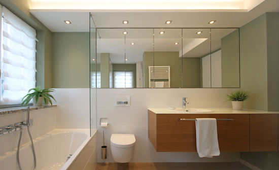 Badezimmer einer Singlewohnung   Innenarchitekt in München - Andreas ...