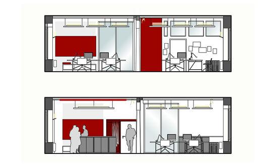 Büro Mit Loftcharakter Innenarchitekt In München Andreas Ptatscheck