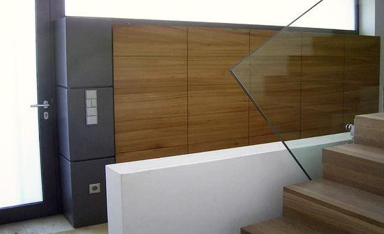Foyer eines einfamilienhauses innenarchitekt in m nchen for Was ist ein innenarchitekt