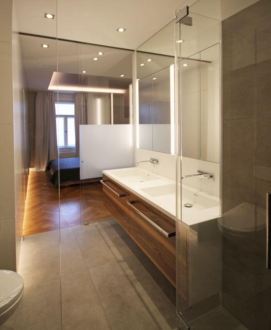 Umbau einer altbauwohnung innenarchitekt in m nchen for Badezimmer innenarchitekt
