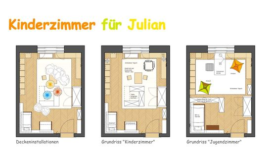 mitwachsendes kinderzimmer innenarchitekt in m nchen andreas ptatscheck. Black Bedroom Furniture Sets. Home Design Ideas