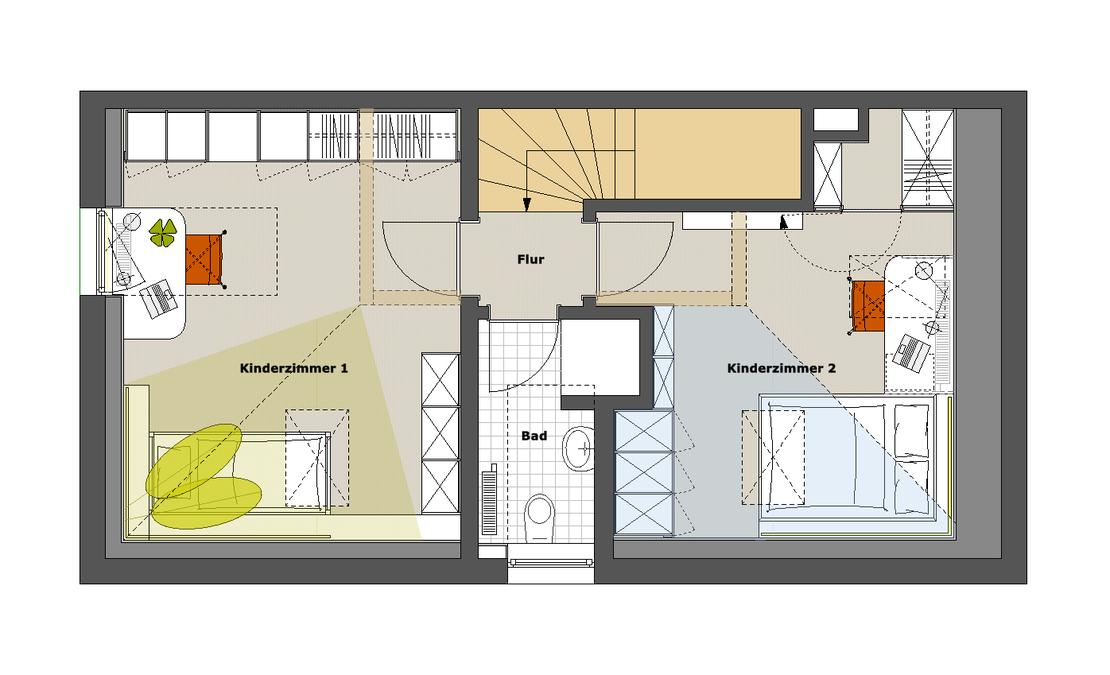 kinderzimmer mit baldachin innenarchitekt in m nchen andreas ptatscheck bayern. Black Bedroom Furniture Sets. Home Design Ideas