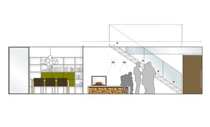 Planung eines einfamilienhauses innenarchitekt in for Was ist ein innenarchitekt