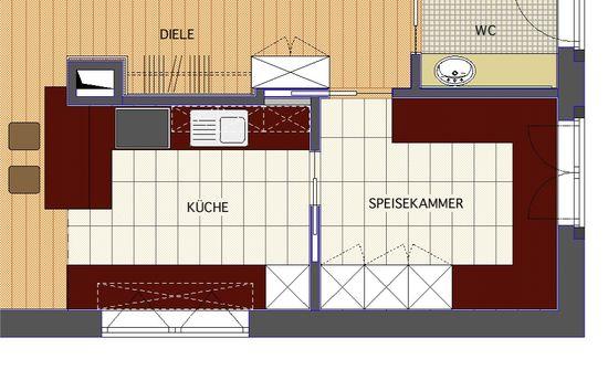 offene k che mit theke innenarchitekt in m nchen andreas ptatscheck. Black Bedroom Furniture Sets. Home Design Ideas