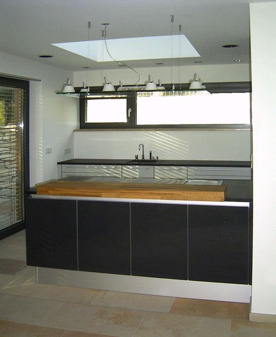 Schieferplatten Küche küche in einem einfamilienhaus innenarchitekt in münchen andreas