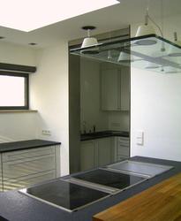 k che in einem einfamilienhaus innenarchitekt in m nchen andreas ptatscheck. Black Bedroom Furniture Sets. Home Design Ideas