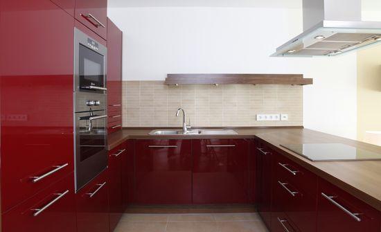 k che in einem appartement innenarchitekt in m nchen. Black Bedroom Furniture Sets. Home Design Ideas