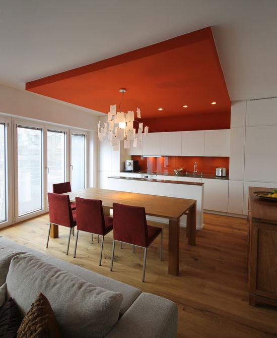 Küche einer Maisonnettewohnung | Innenarchitekt in München - Andreas ...