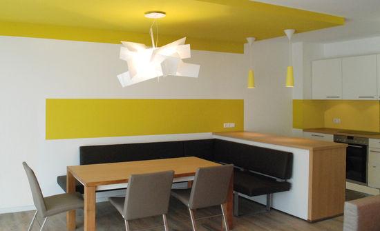 essbereich einer ferienwohnung innenarchitekt in m nchen. Black Bedroom Furniture Sets. Home Design Ideas
