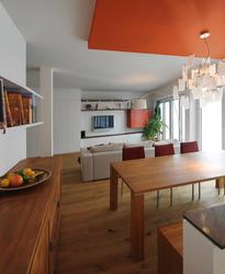 Speisebereich einer Maisonettewohnung  Innenarchitekt in München - Andreas Ptatscheck