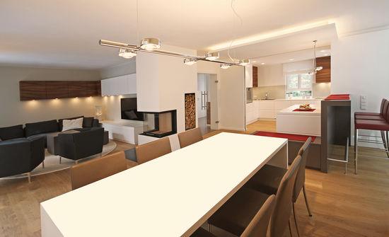 speisebereich eines einfamilienhauses | innenarchitekt in münchen, Innenarchitektur ideen