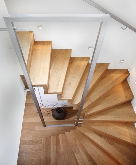 treppe als objekt im raum innenarchitekt in m nchen andreas ptatscheck bayern. Black Bedroom Furniture Sets. Home Design Ideas