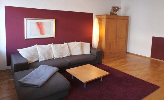 Wohnzimmerlounge  Innenarchitekt in München  Andreas
