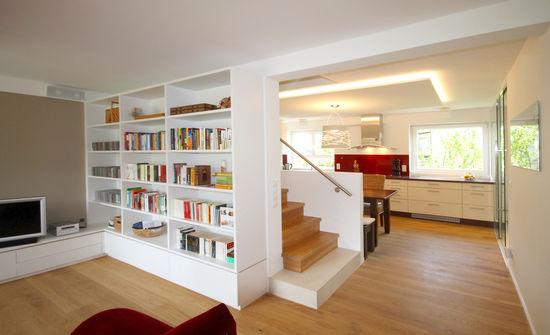 wohnraum in einem reihenhaus innenarchitekt in m nchen. Black Bedroom Furniture Sets. Home Design Ideas