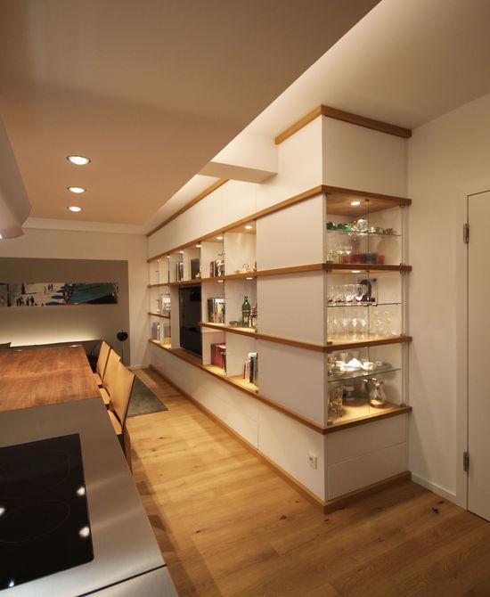 wohnlounge einer wohnküche | innenarchitekt in münchen - andreas, Innenarchitektur ideen