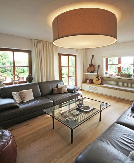 Beleuchtungskonzepte Wohnzimmer wohnraum einer doppelhaushälfte innenarchitekt in münchen