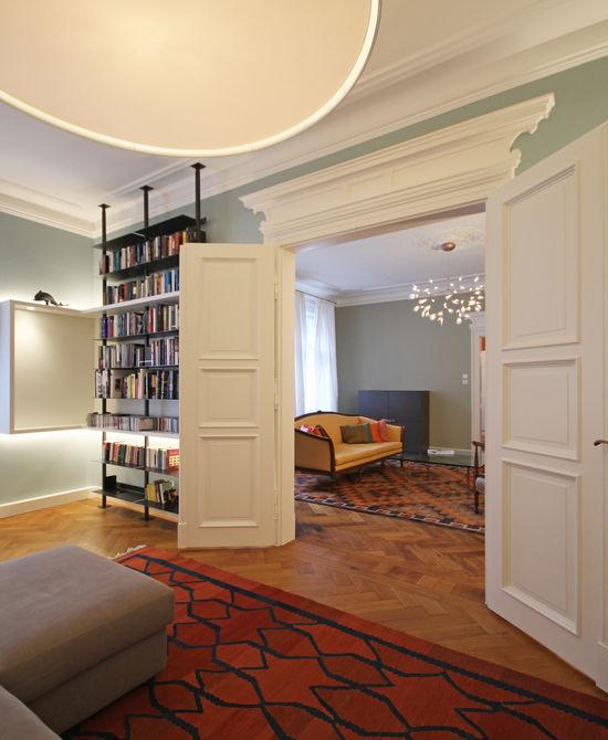 Kleiner Salon einer Altbauwohnung | Innenarchitekt in ...
