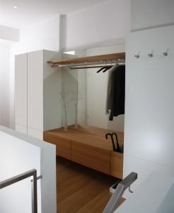 Eswerderaum innenarchitekt in m nchen andreas for Einbauschrank garderobe modern